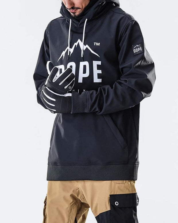 Waterpoof Letter Printing Long Sleeve Sweatshirt Ski Suit