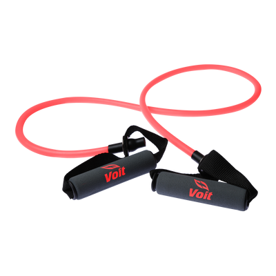 Indoor Fitness Tube Resistance Bands with Comfort Grip