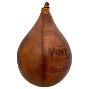 Voit 1922 Legacy Collection, Natural Tanned Leather, Boxing Speed Bag No. 5 (Wholesale)