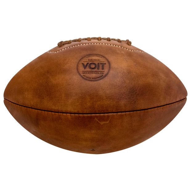 Voit 1922 Legacy Collection, Natural Tanned Leather, Football No. 7