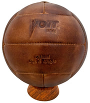 Voit 1922 Legacy Collection, Natural Tanned Leather, Soccer Ball No. 5