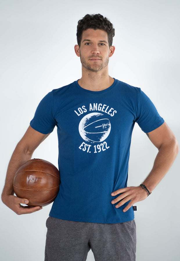 Basketball 1922 Vintage Print T-Shirt