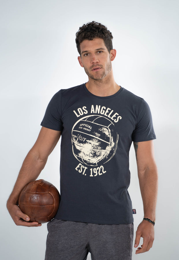 Voit 1922 Legacy Collection, 100% Cotton Vintage Soccer Print T-Shirt