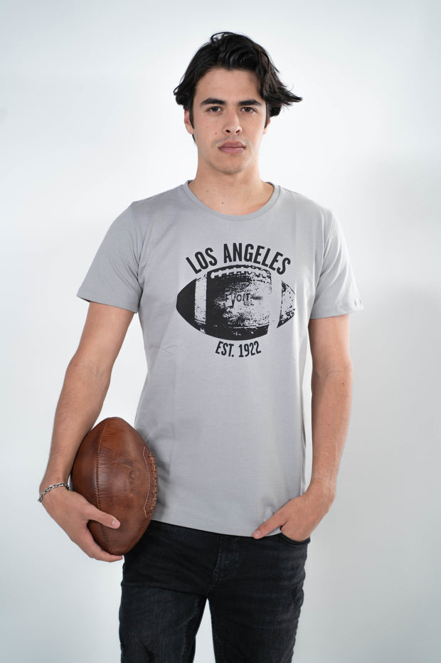 Voit 1922 Legacy Collection, 100% Cotton Vintage Football Print T-Shirt