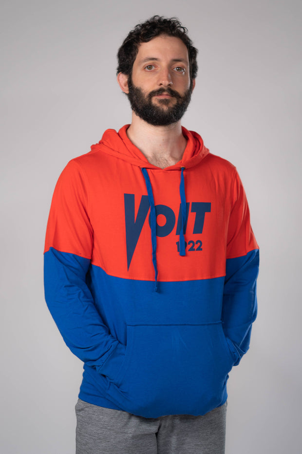Voit 1922 Legacy Collection, Bamboo & Cotton, Vintage Logo Comfort Hoodie