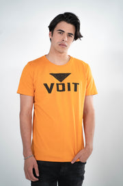 Voit 1922 Legacy Collection, 100% Cotton Vintage Old School Logo Print T-Shirt
