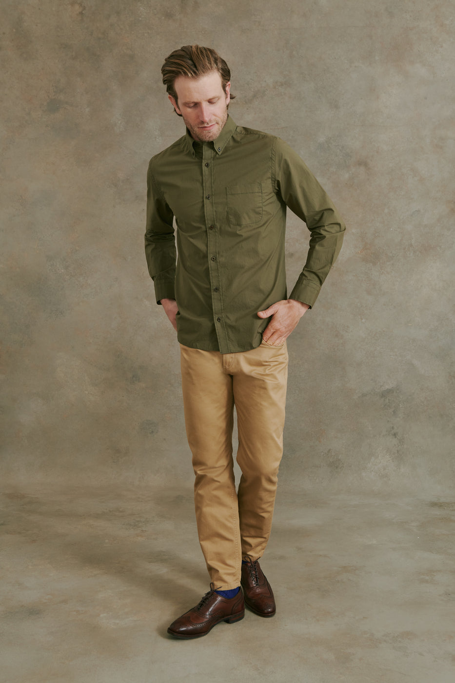 Load image into Gallery viewer, Akers Shirt in Olive