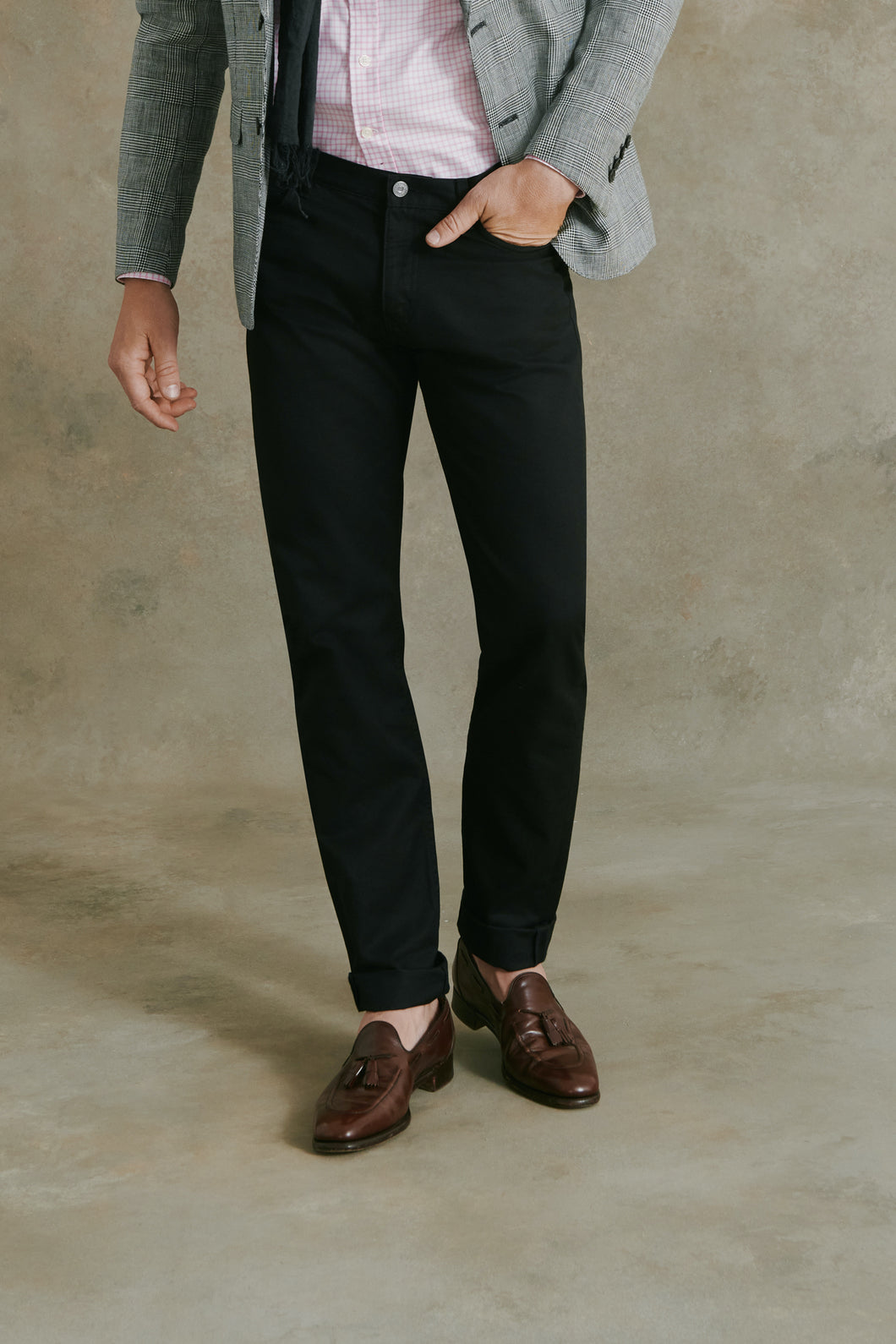 Barnard 5-Pocket Pant in Black
