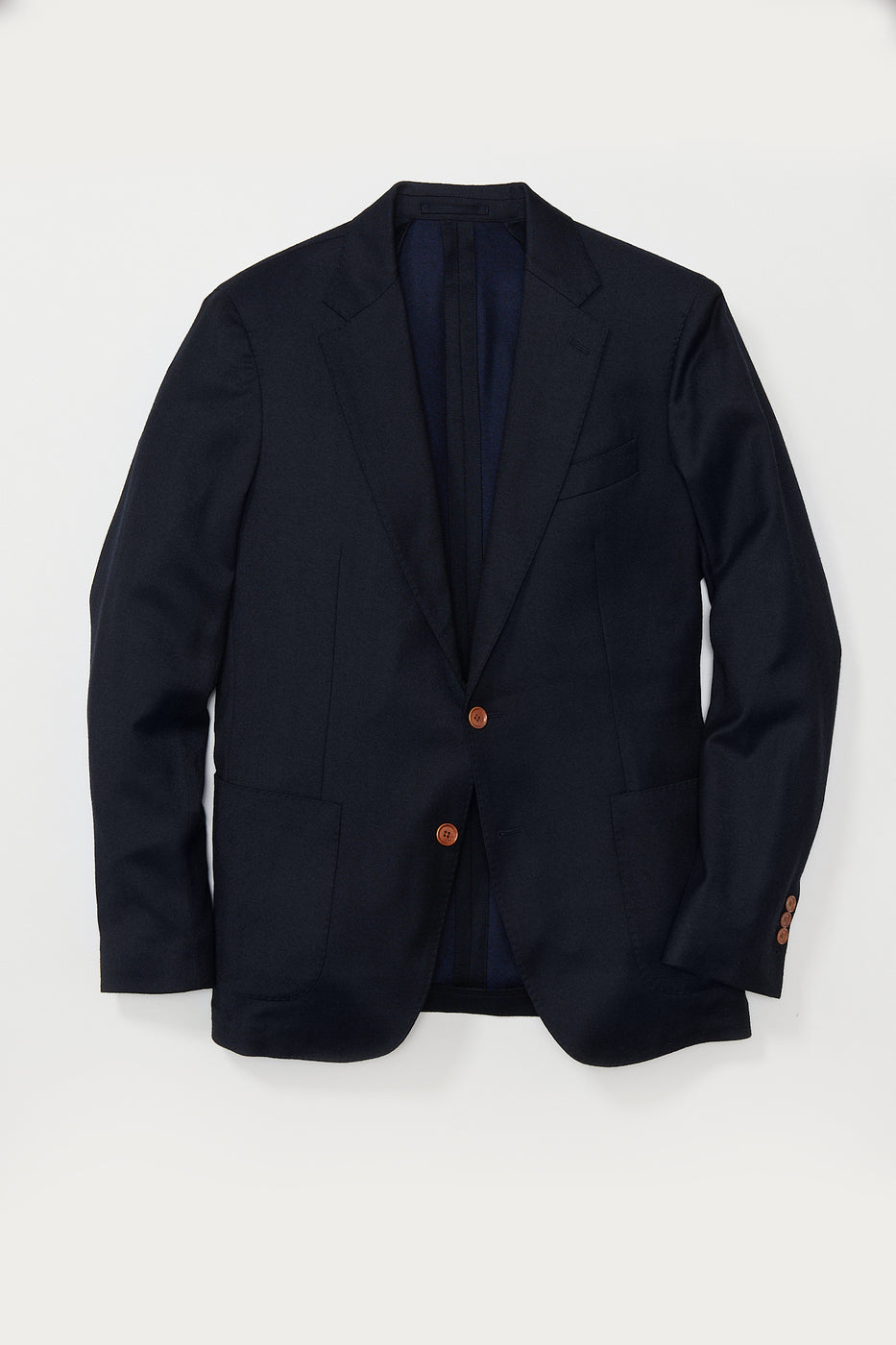 Load image into Gallery viewer, Dover Cashmere Soft Blazer in Navy