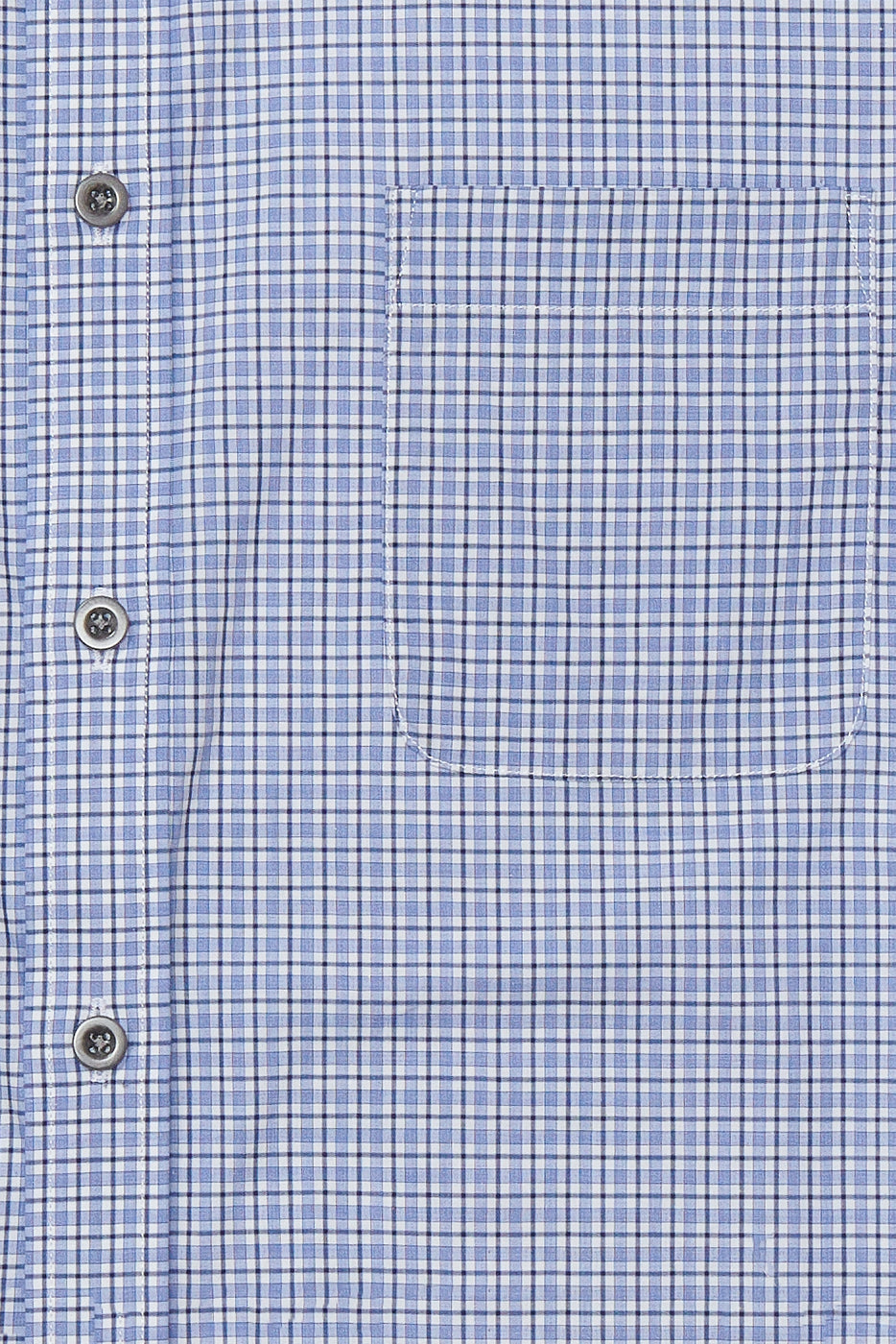 Load image into Gallery viewer, Coggeshal Shirt in Blue & Black Check