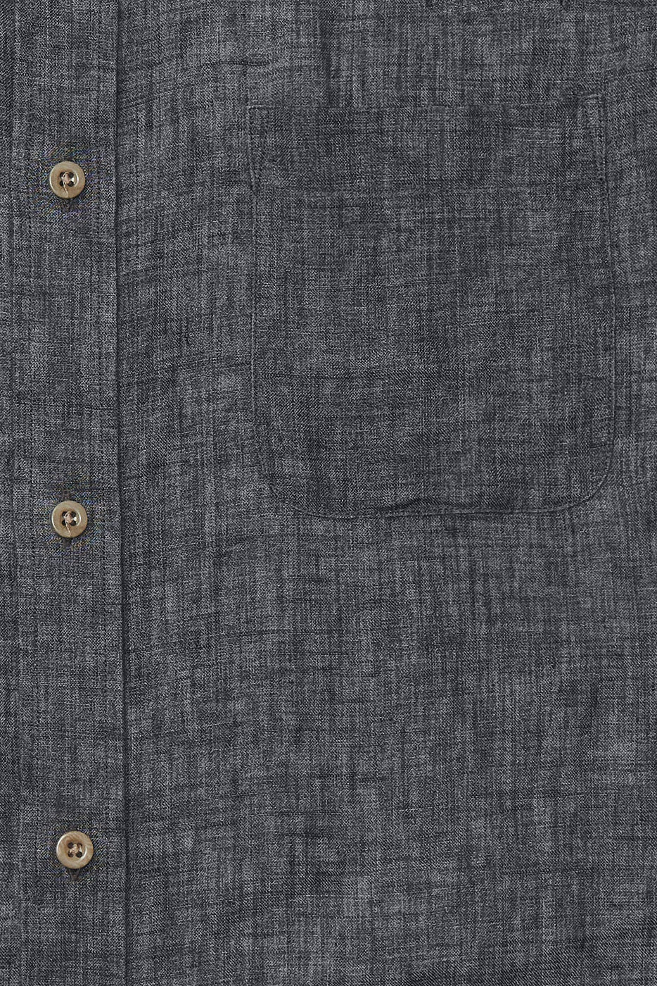 Load image into Gallery viewer, Bracken Linen Shirt in Charcoal