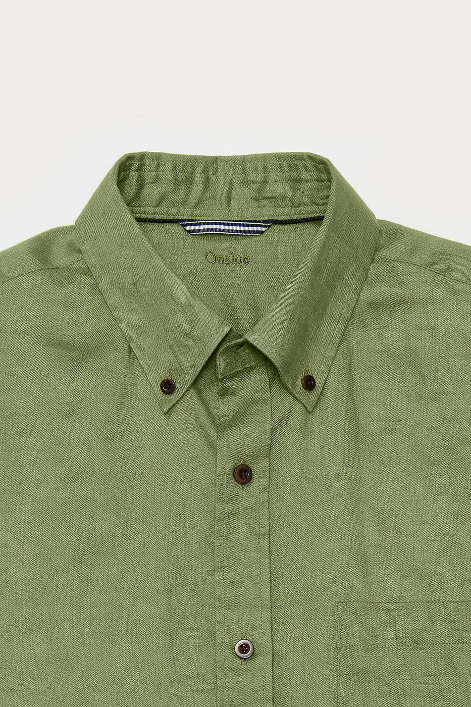 Load image into Gallery viewer, Killian Linen Shirt in Green