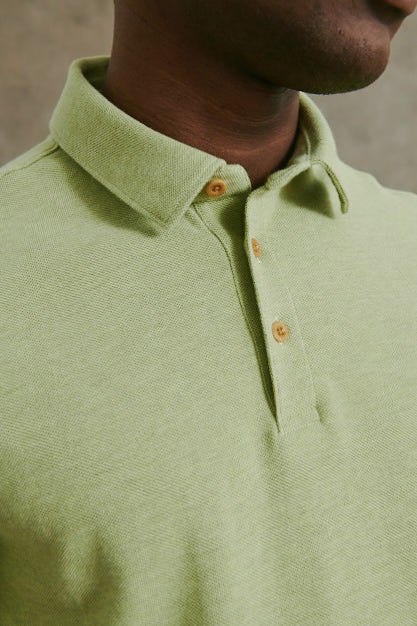 Load image into Gallery viewer, Lockport Polo in Lime Green