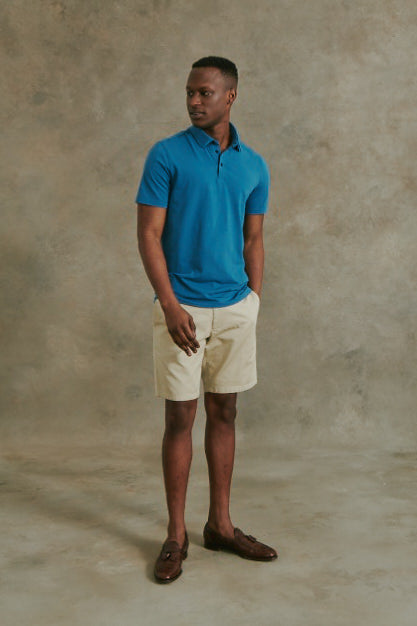 Load image into Gallery viewer, Meraux Polo in Teal