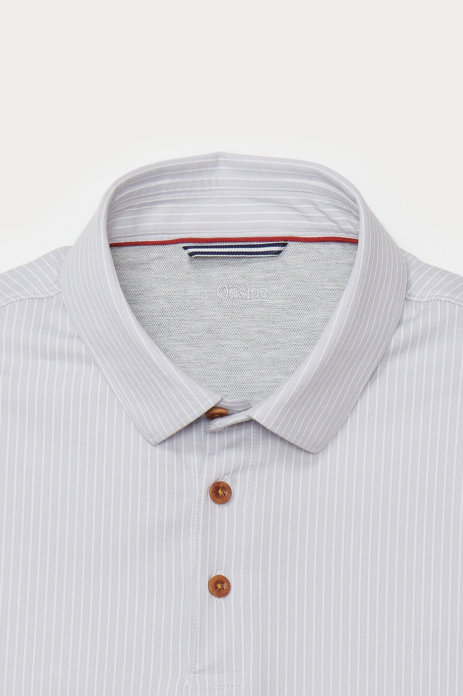 Load image into Gallery viewer, Seabrook Stripe Polo in Grey