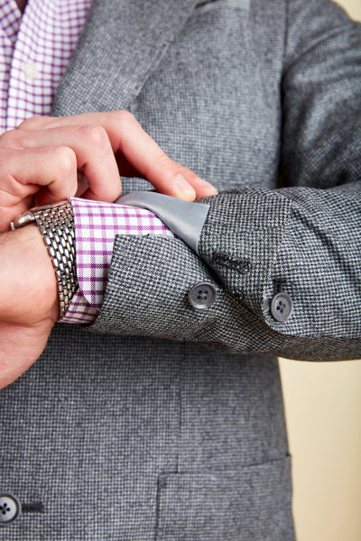 Load image into Gallery viewer, Highland Black Houndstooth Sport Coat