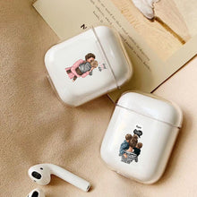 Load image into Gallery viewer, Case For Apple airpods case Cute Mom Baby Girls Wireless Bluetooth Earphone Case For Airpods Headphone Hard Protective Case