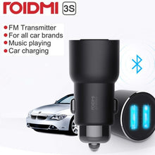 Load image into Gallery viewer, ROIDMI 3S Bluetooth 5V 3.4A Car Charger Music Player FM Smart APP for iPhone and Android Smart Control MP3 Player