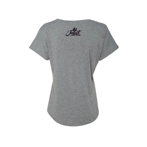 & JULIET Romeo Who Grey Tee