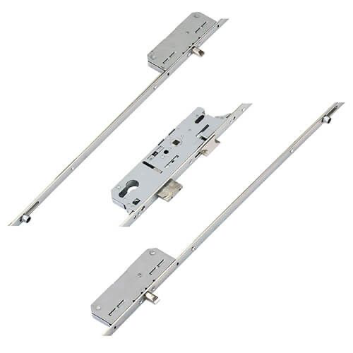 Fuhr 856 Type 8 Latch Deadbolt 2 Rollers 2 Pins Lift Lever