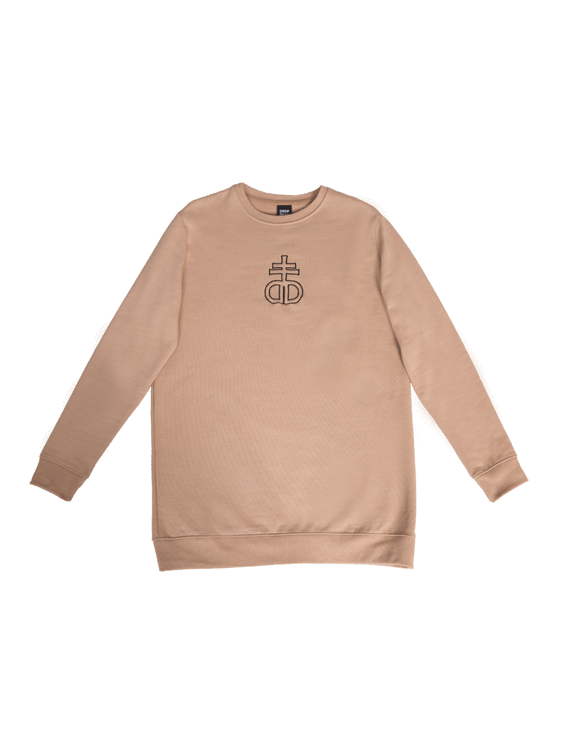 Taupe Embroidery Jumper