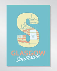 Glasgow Southside - Battlefield Rest A3 print