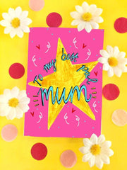 To my best pal mum card
