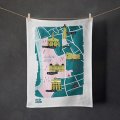 Glasgow Tea Towel - various designs available