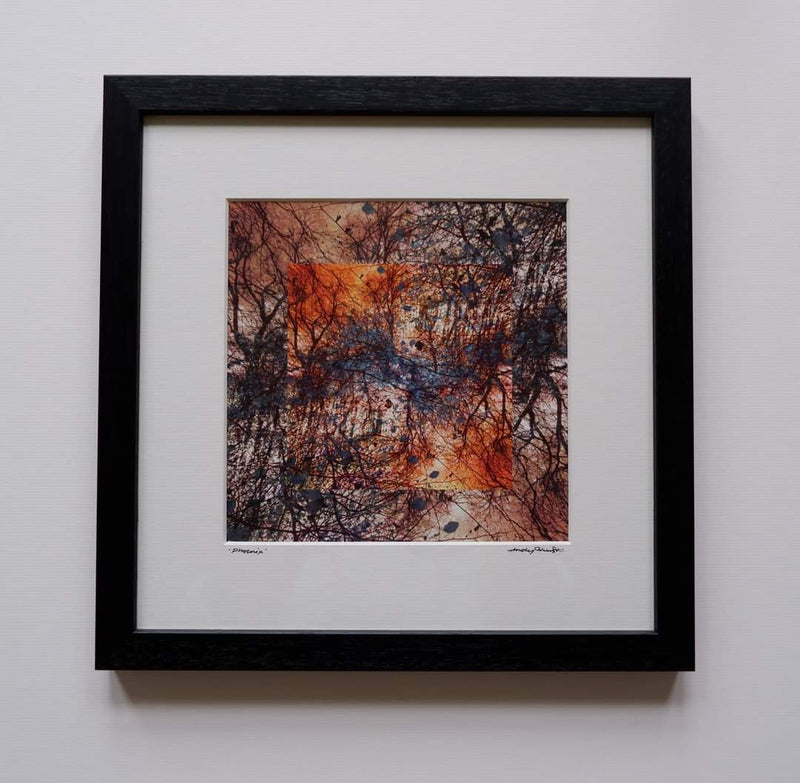 Framed print - 'Phoenix' by Hidden Hand Art & Design