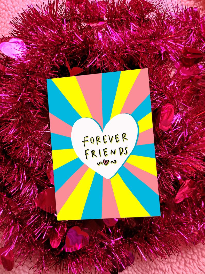 Forever friends card