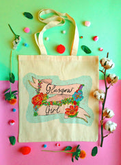 Glasgow Girl tote bag - 2 designs available