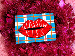 Glasgow kiss card