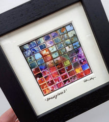Mini framed print – Streetglass 2