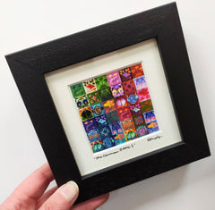 Mini framed print – The Common Close 3