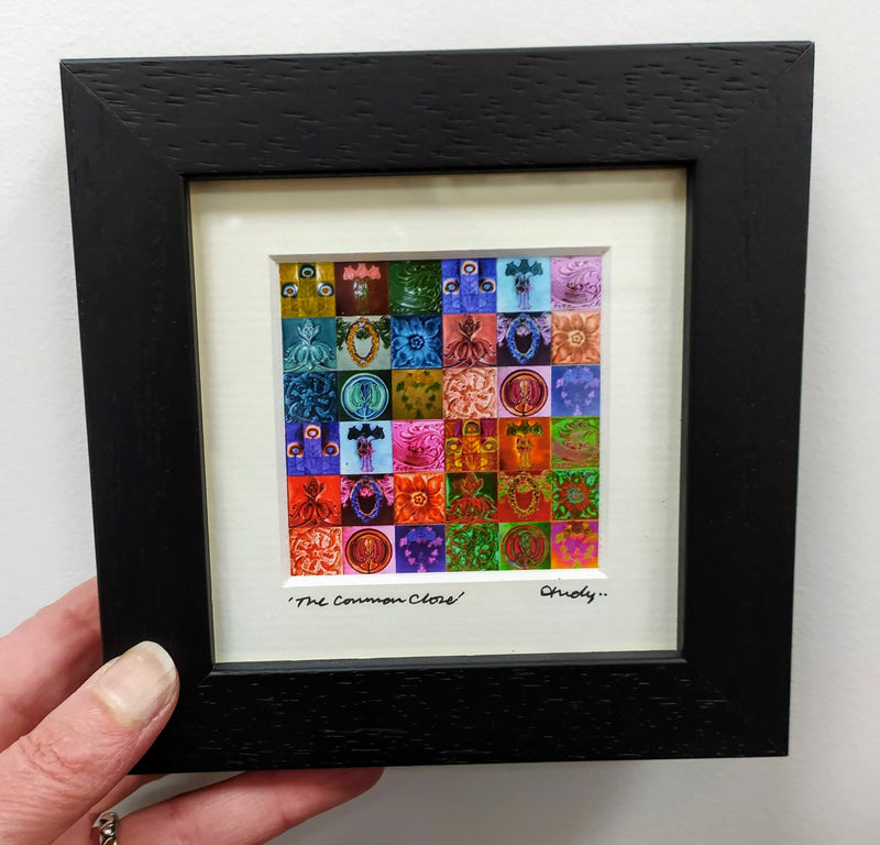 Mini framed print – The Common Close