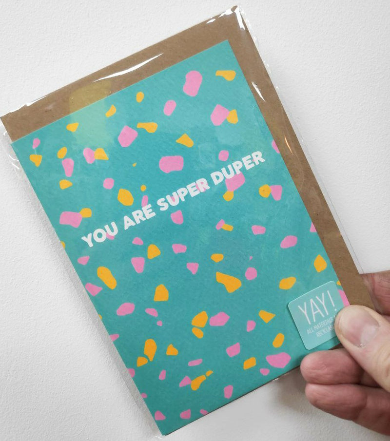 You are super duper card