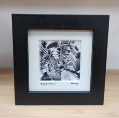 Mini framed print – Silent Train