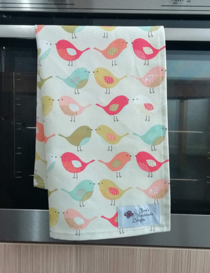 Tea towel - Twitter Along (2 colours available)
