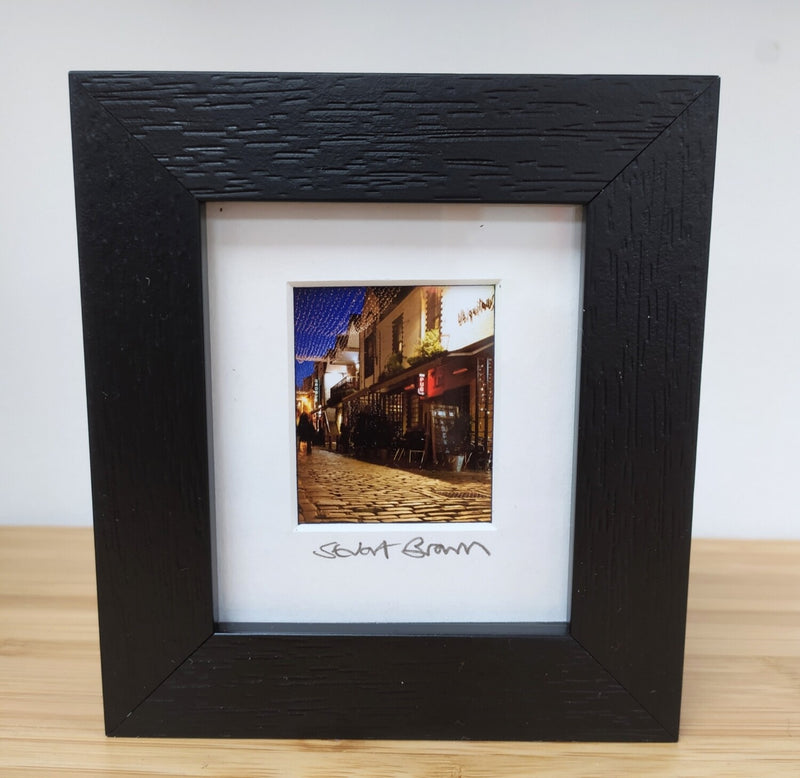 Mini framed print - Ashton Lane