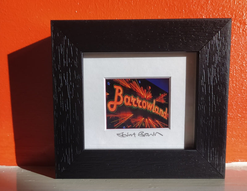 Mini framed print - Barrowland Ballroom