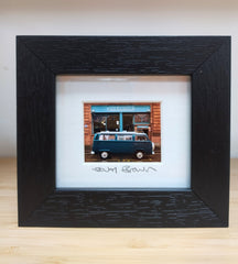 Mini framed print - Cafe Gandolfi