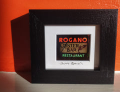 Mini framed print - Rogano
