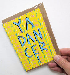 Ya dancer card