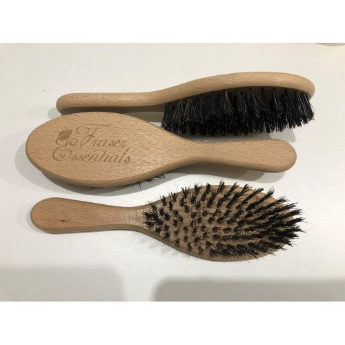 Oval Boar Bristle Brush