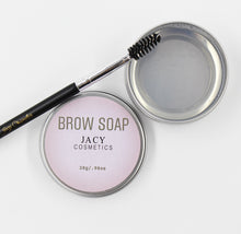 Load image into Gallery viewer, BROW SOAP & EYEBROW BRUSH
