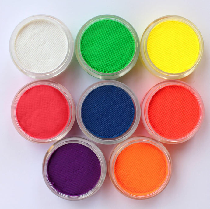 UV FACE & BODY PAINT 8-10g ea