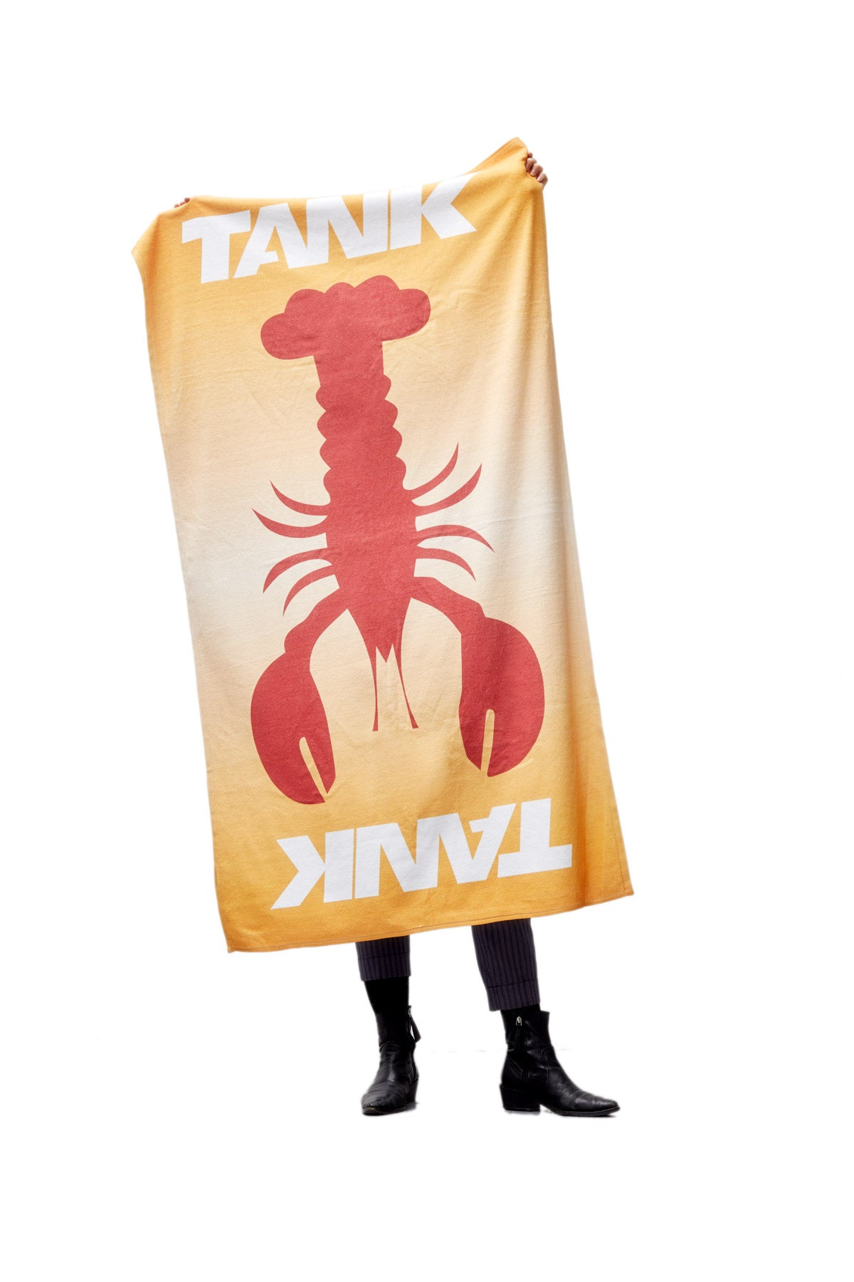 TANK Lobster Beach Towel