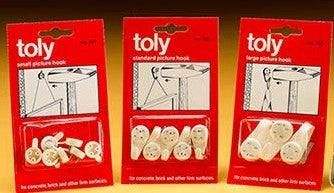 Frank Shaw - No.1 UK Supplier of Toly Hard Wall Hooks!