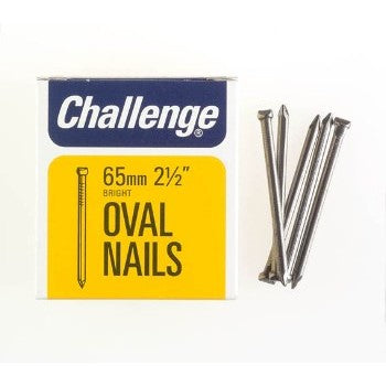 65mm Oval Nails - 225g