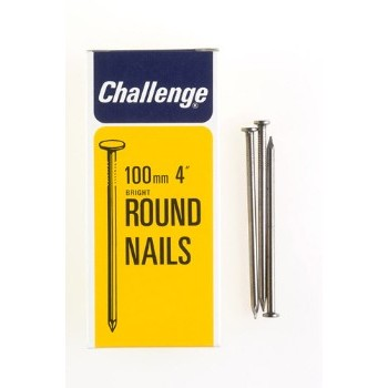 100 x 4.50mm Round Wire Nails - 500g